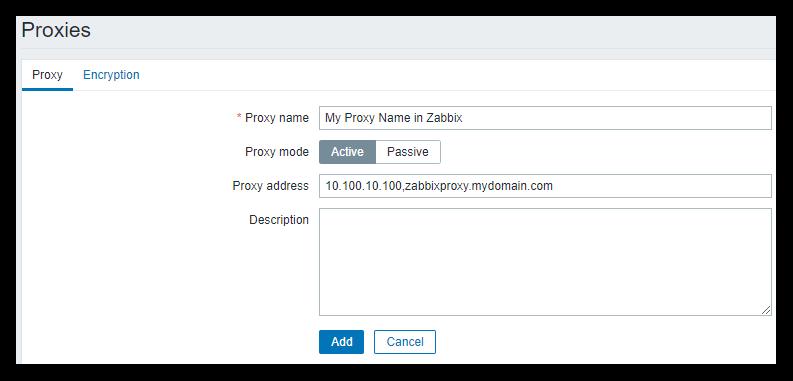 Installing Zabbix Proxy Server on CENTOS 7   Steeladept's Github Pages